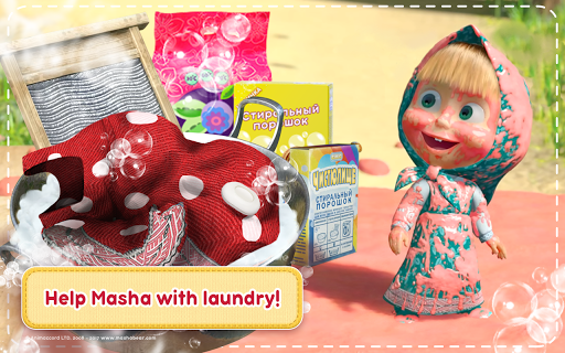Masha and the Bear: House Cleaning Games for Girls 2.0.0 screenshots 17