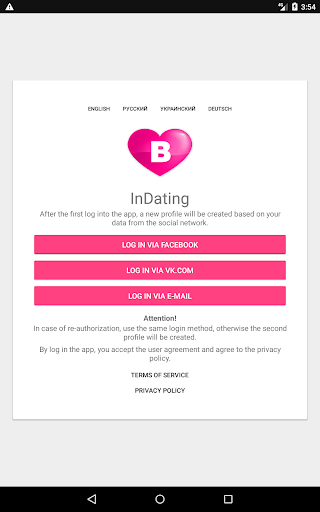 InDating - new dating 2.2.4 Screenshots 13