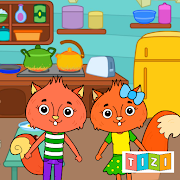 Animal Town - My Squirrel Home for Kids & Toddlers
