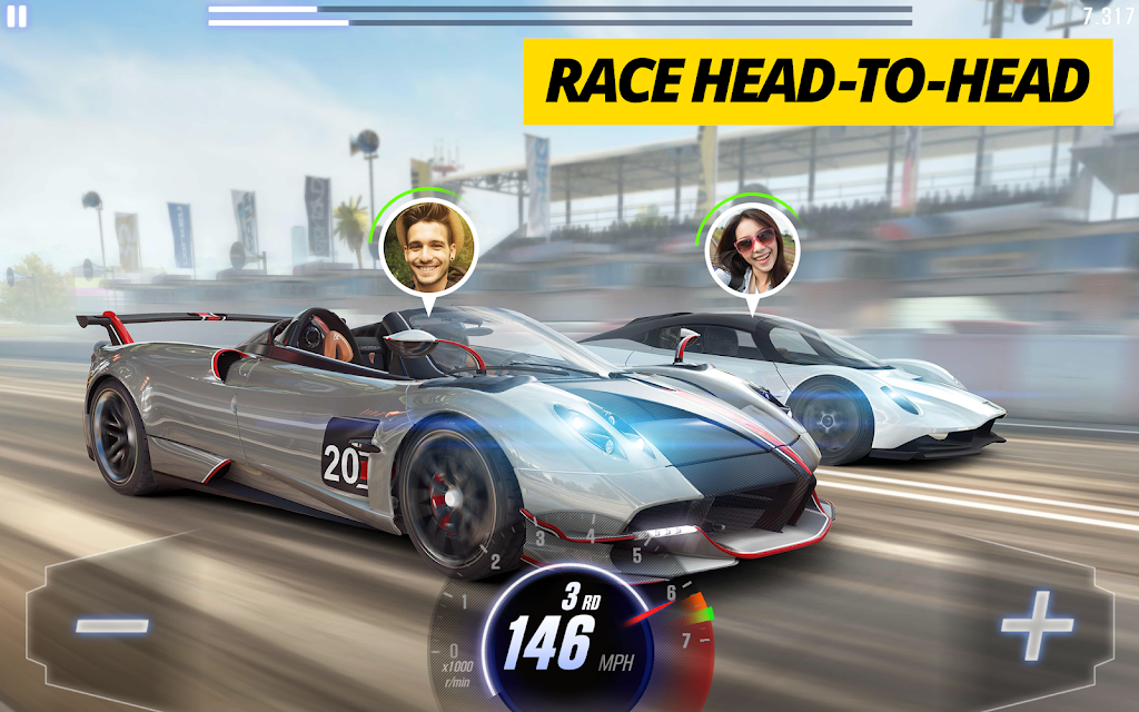 CSR Racing 2 – Free Car Racing Game  poster 8
