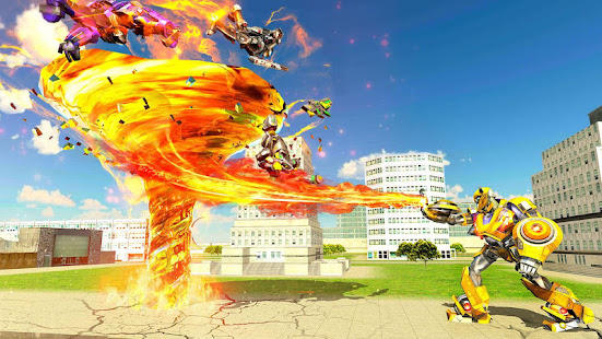 Grand Tornado Robot Car Transform: War Robot Games 1.3.5 Screenshots 17