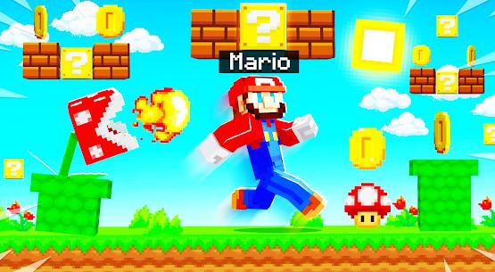 Mario Mod for Minecraft PE   Mario World Map Apk Download 4