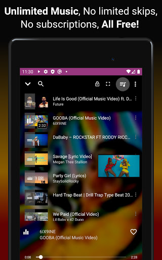 Download music, Free Music Player, MP3 Downloader 1.137 Screenshots 19