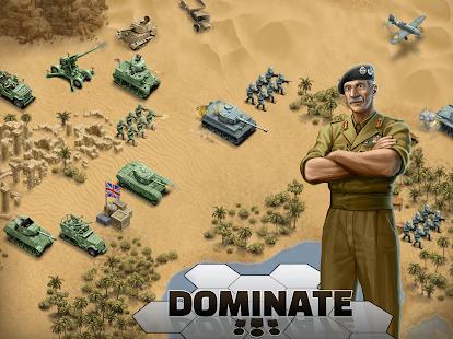 1943 Deadly Desert - a WW2 Strategy War Game screenshots 19
