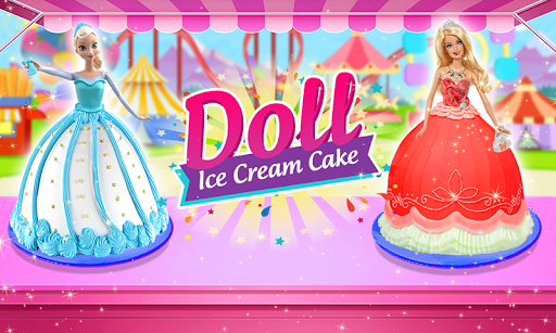 Doll Ice Cream Cake Baking 2019: World Food Maker apktreat screenshots 1