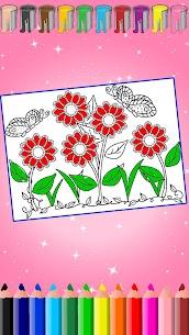 Çiçek Boyama Apk İndir 4