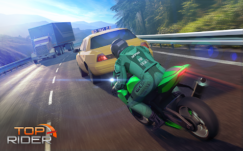 Top Rider: Bike Race & Real Traffic Screenshot