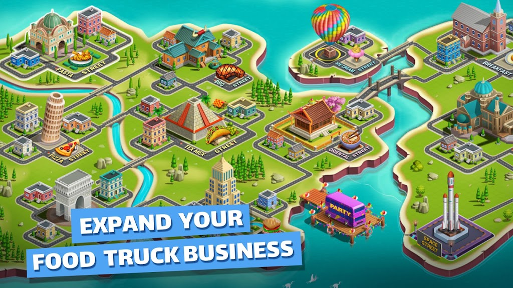 Cooking Games: Food Truck Chef My Cafe Restaurant poster 12
