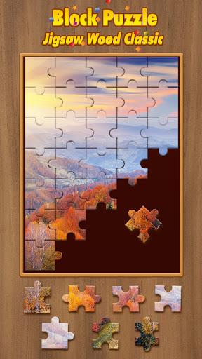 Jigsaw Wood Classic -  Block Puzzle apklade screenshots 2