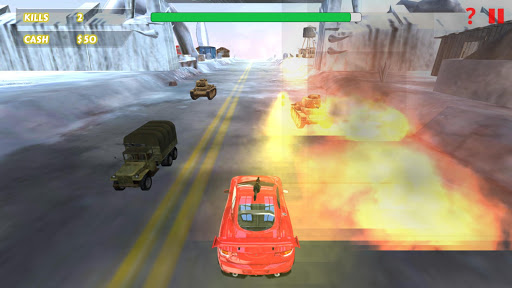 Car Racing Shooting Game  screenshots 2