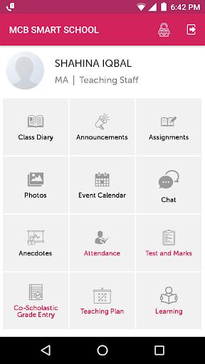 MCB SMART SCHOOL screenshots 4