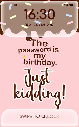 Girly Lock Screen Wallpaper with Quotes 4.4 Screenshots 9