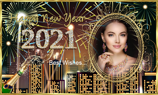 Happy New Year 2021 Photo Frames Greeting Wishes 1.0.1 Screenshots 9