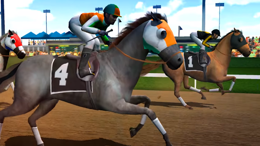 Jumping Horse Racing Simulator 3D  screenshots 4