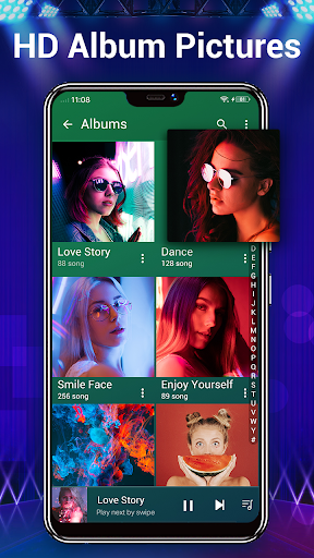Music Player - Audio Player & 10 Bands Equalizer android2mod screenshots 3