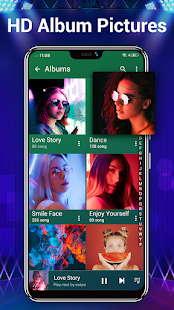 Music Player - Audio Player & 10 Bands Equalizer 2.0.1 Screenshots 3