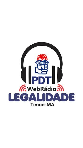 Rádio Web Legalidade screenshot 1