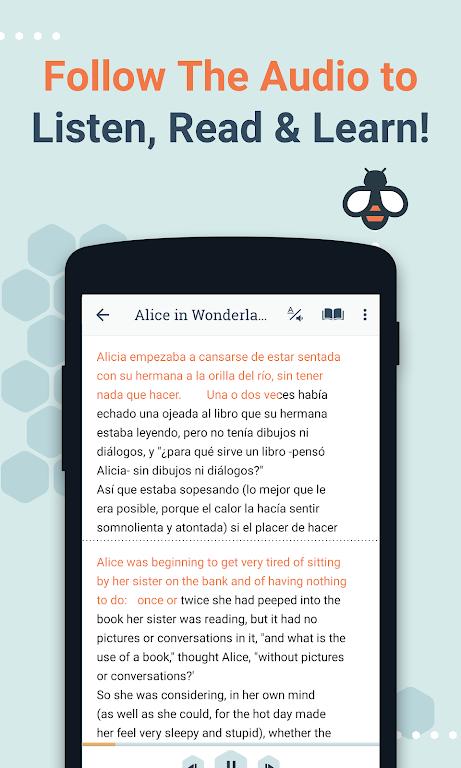 Beelinguapp: Learn Spanish, English, French & More  poster 2