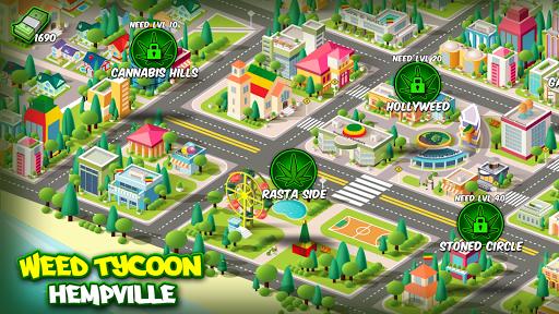 Kush Tycoon: Grow Best Buds in Hempville android2mod screenshots 1
