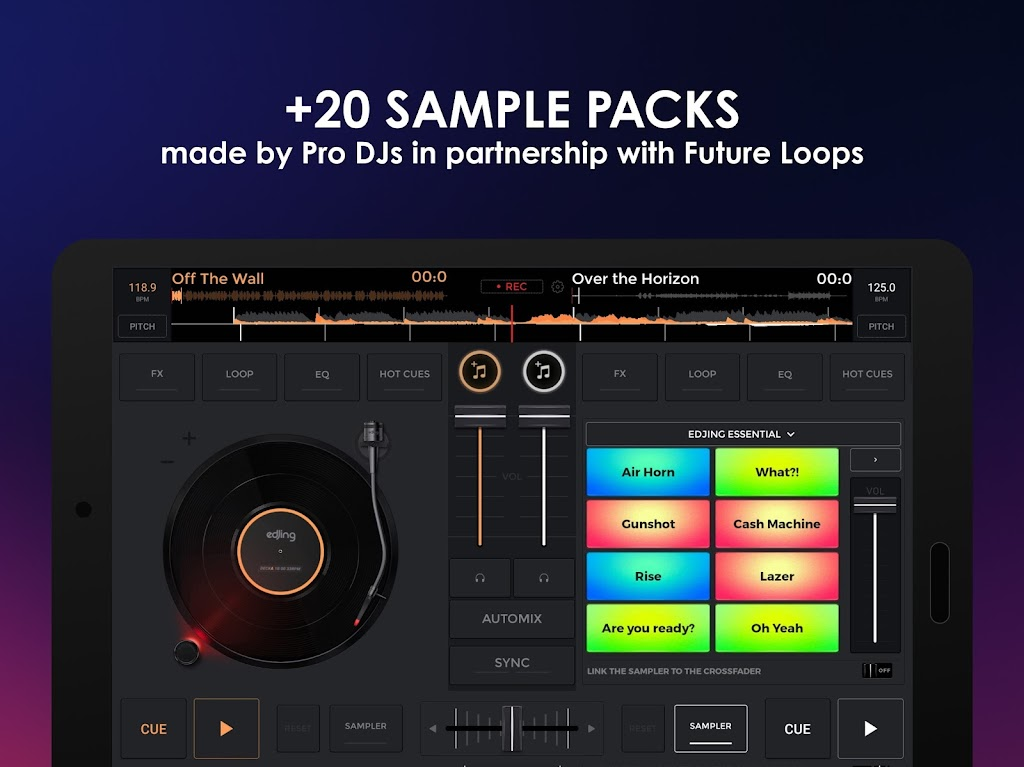 edjing Mix - Free Music DJ app  poster 12