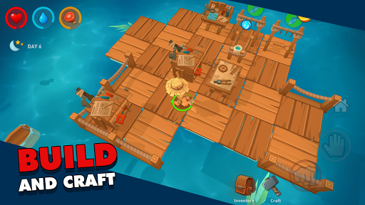 Epic Raft: Fighting Zombie Shark Survival 0.9.33 screenshots 2