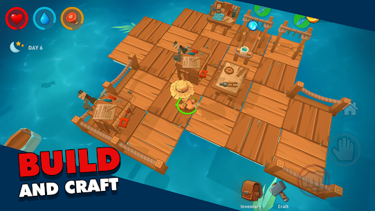 Epic Raft: Fighting Zombie Mod Apk (Unlimited Money/Immortal) 2