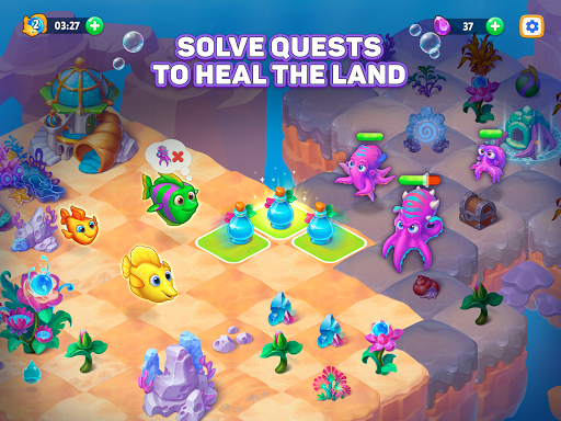 Sea Merge! Fish Games in Aquarium & Ocean Puzzle  screenshots 8