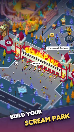 Idle Scream Park screenshots 1
