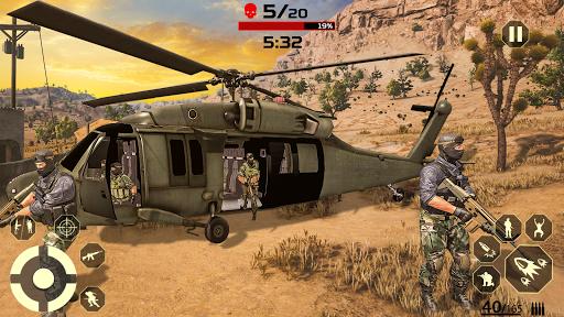 FPS Free Fire Game: New Gun Shooting Games Offline modavailable screenshots 8