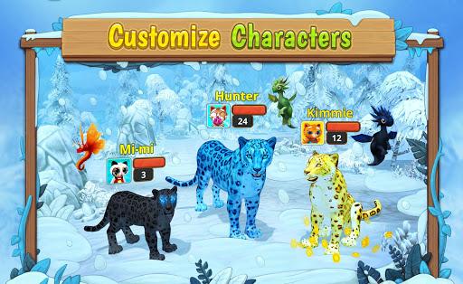 Code Triche Snow Leopard Family Sim Online APK MOD (Astuce) screenshots 2