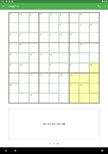Killer Sudoku 2.1.7 screenshots 9