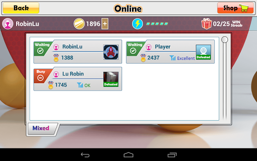 Virtual Table Tennis 2.2.0 screenshots 20
