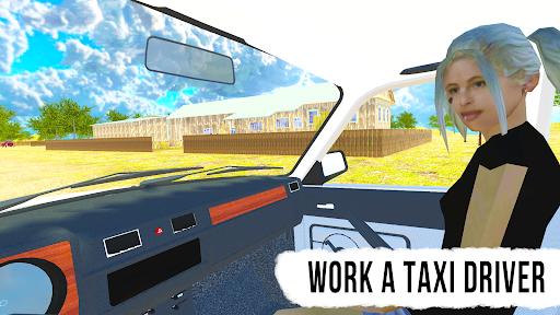 Driving Simulator: Russian Village & Online  screenshots 4