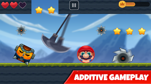Red Bounce Ball: Jumping and Roller Ball Adventure  screenshots 14