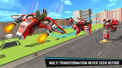 Drone Robot Car Game - Robot Transforming Games screenshots 9