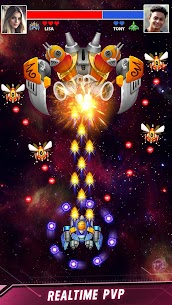 Space Shooter: Galaxy Attack (MOD, Unlimited Money) 3
