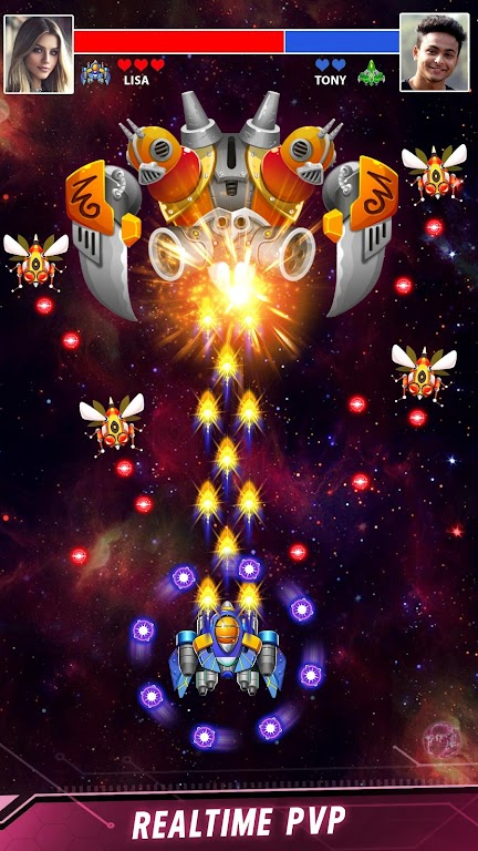 Space shooter - Galaxy attack - Galaxy shooter  poster 2