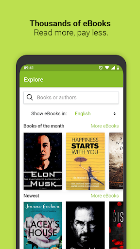 Media365 - eBooks  Screenshots 1