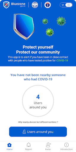 Bluezone - Contact detection 3.0.6 screenshots 1