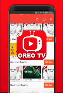 Oreo Tv APK For Android 2