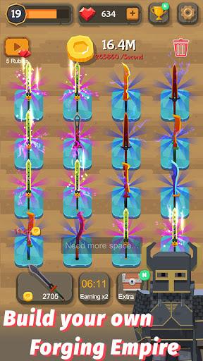 Merge Sword - Idle Blacksmith Master 1.4.4 screenshots 4