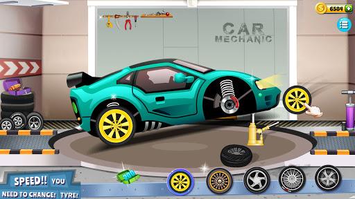 Modern Car Mechanic Offline Games 2020: Car Games apktram screenshots 17
