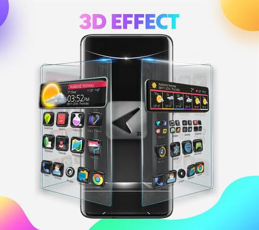 CM Launcher 3D - Theme & Wallpapers 1.1 screenshots 2