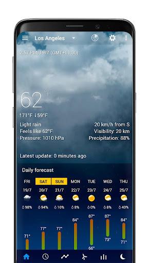 Realistic animated weather backgrounds add-on 2.0.1 Screenshots 8