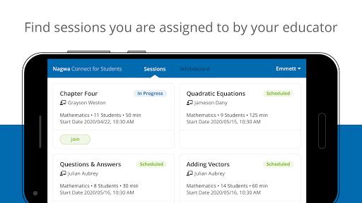 Nagwa Connect for Students 1.6.0 Screenshots 1