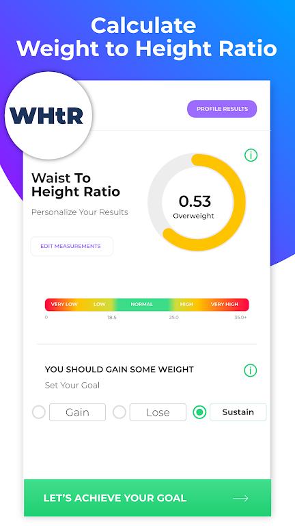 BMI Calculator: Body Fat Percentage & Ideal Weight  poster 12