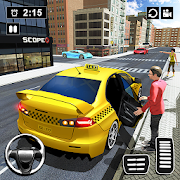 Modern Taxi Drive Parking 3D Game: Taxi Games 2021