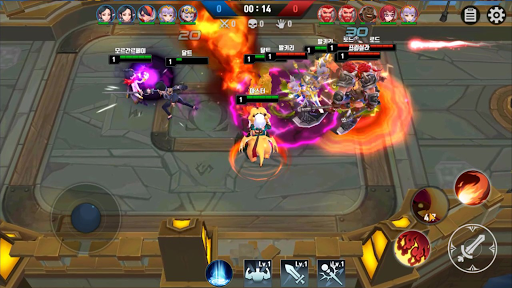 Masters Battle League 5v5 : Legend MOBA PvPTrainer modavailable screenshots 22