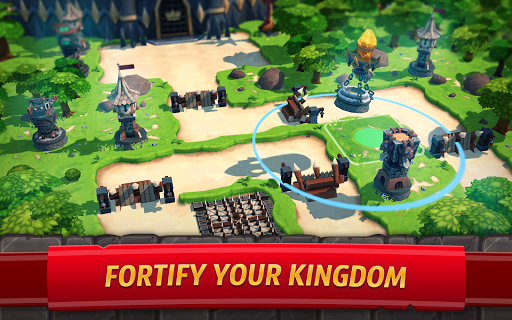 Royal Revolt 2: Tower Defense RTS & Castle Builder apkslow screenshots 10