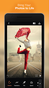 Wobble: 3D Foto Animator & Glitch Foto Bewegung Screenshot